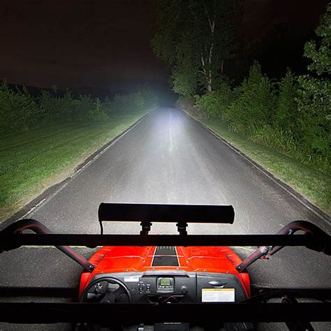 52 quot 500w aluminum led light bar flood spot combo for