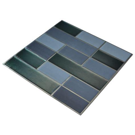 brick smart backsplash tiles for kitchen 10 pcs peel n