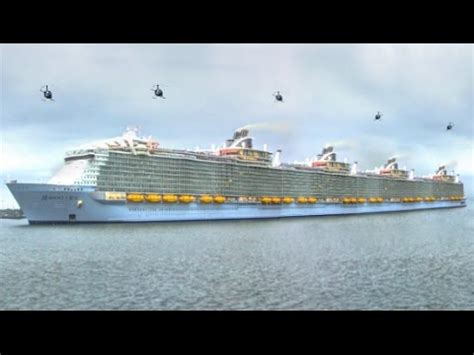 Longest Cruise Ships In The World - Disney Fantasy - NCL Norwegian Joy - Royal Caribbean Part 1 ...
