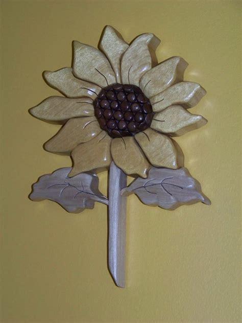 sunflower intarsia  sgtsnafu  lumberjockscom