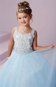 Tiffany Princess 13494 Corset Back Sparkling Tulle Ball