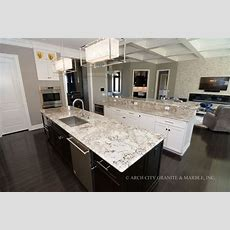Complete Guide To White Granite Countertops Arch City