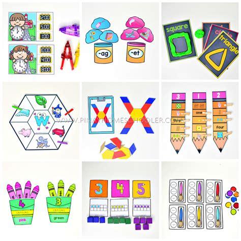 back to school preschool and kindergarten learning