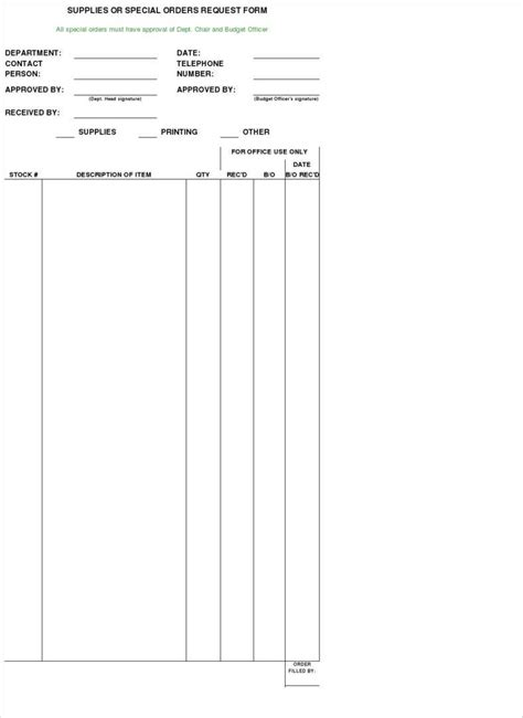 sales order form templates  samples examples