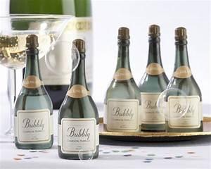 a ssymbol of celebration mini champagne wedding favors With mini champagne wedding favors