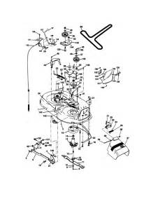 mower deck diagram parts list for model 917270671