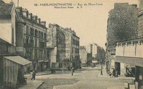les anciennes rues de paris rue du mont cenis eme
