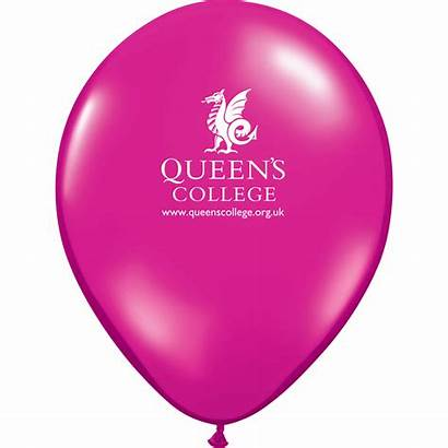 Balloons Magenta Promotional Inch