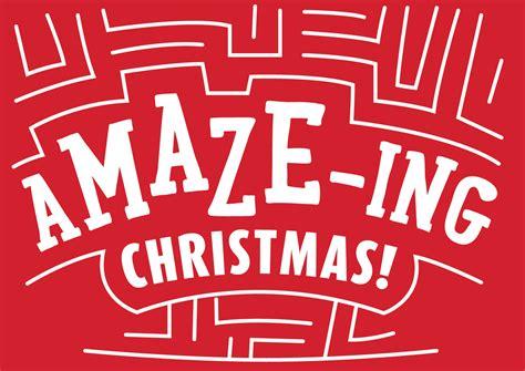 Jesus Maze Christmas