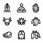Hindu Religion Icon Icons Packs Symbols Beliefs