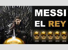¡Genio! Leo Messi hace historia con su quinto Balón de Oro