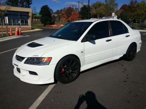 Find Used 2006 Lancer Evolution 9 Rs Wicked White Only 179