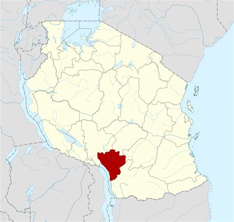 Filetanzania Njombe Region Location Mapsvg Wikimedia