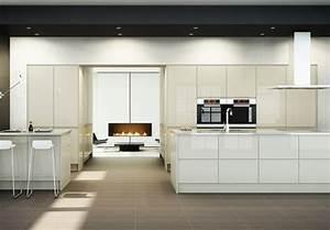 Handleless Kitchen Doors - Contemporary Kitchens from Doorbox