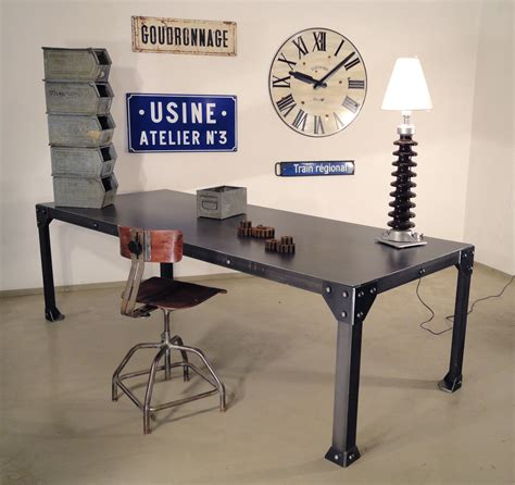 mobilier bureau industriel antiquités industrielles suisses et françaises objets