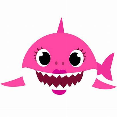 Shark Transparent Clipart Mommy Clip Daddy Characters
