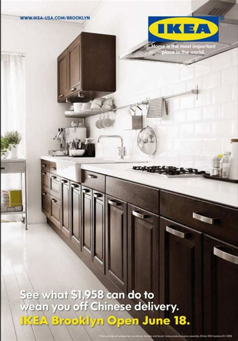 luxury kitchen faucet brands ikea kitchens quot ikea kitchen brown quot print ad by