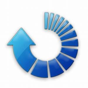 Refresh Arrow (Arrows) Icon #007327 » Icons Etc
