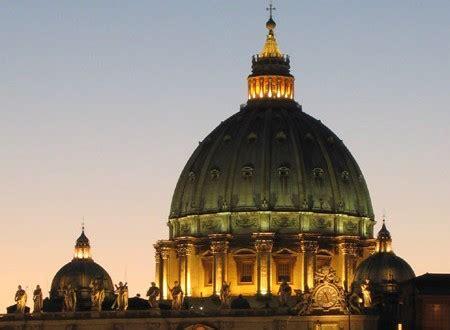 cupola di san pietro roma la magica illusione della cupola di san pietro