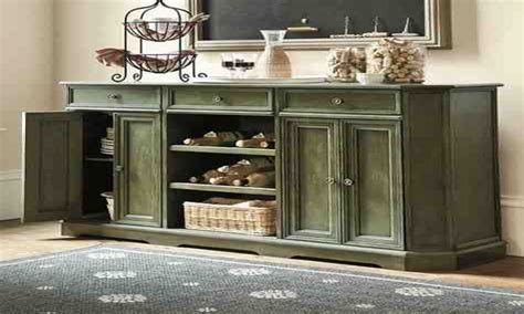 Decorating big walls, decorating dining room buffets and