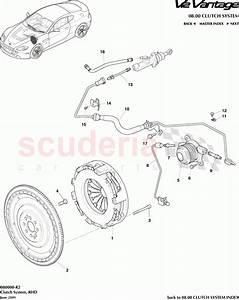 Aston Martin V12 Vantage Clutch System  Rhd  Parts
