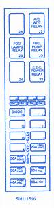 Mazda Soho 1998 Fuse Box  Block Circuit Breaker Diagram