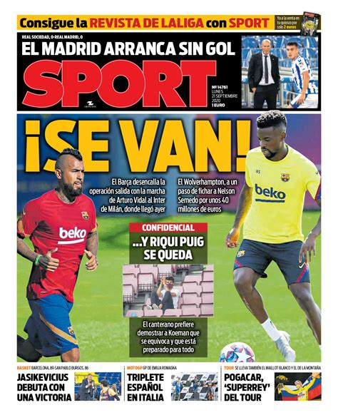 Today's Spanish Papers: Real Madrid held at Real Sociedad ...