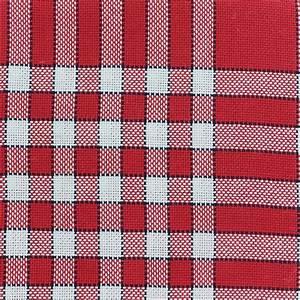 tissu oeko tex torchon coton carreaux normands rouge blanc With tissu carreaux rouge et blanc