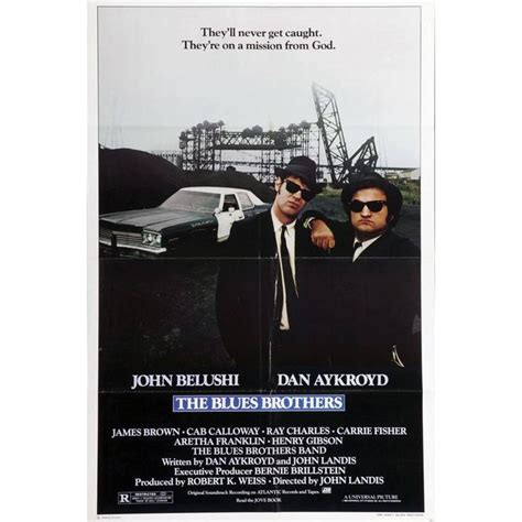 """Only members can add hbo and 100+ more channels — no cable required. """"The Blues Brothers"""" Film Poster, 1980 For Sale at 1stdibs"""