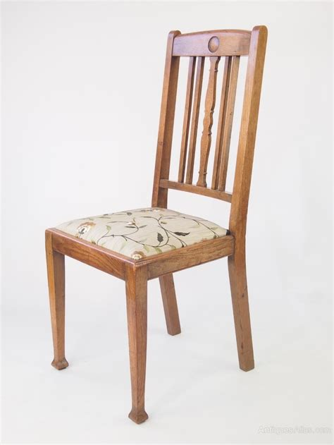 vintage oak dining chairs set 4 oak dining chairs antiques atlas 6852