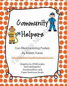 Community Helpers - Fun-Filled Activity Posters from Fun ...
