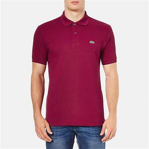 T Shirt Bordeaux Homme : lacoste men 39 s polo shirt bordeaux clothing ~ Melissatoandfro.com Idées de Décoration