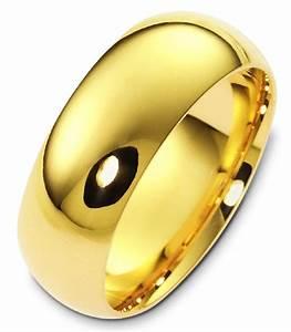 Xh123838au 24k gold 8mm wide comfort fit plain wedding band for 24k gold wedding ring