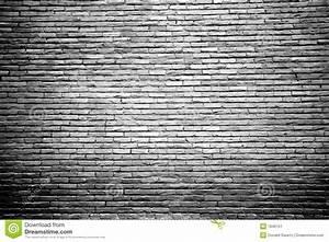 Mur Brique Blanc : mur de briques noir et blanc avec le centre mis en valeur image stock image 1946151 ~ Mglfilm.com Idées de Décoration