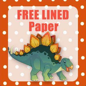 cute dinosaur stationery  printable  paper  publishing