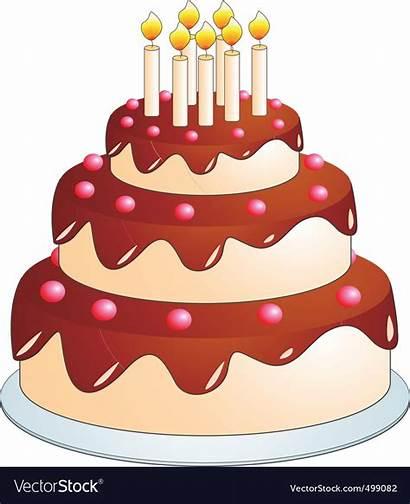 Cake Cartoon Vector
