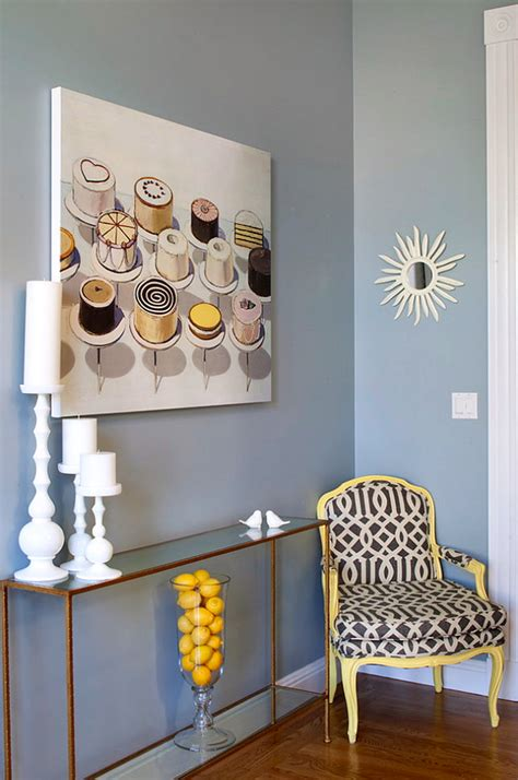 banish  winter blues blue wall colors  spring