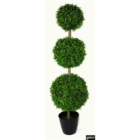 Geko Products Artificial Grass Topiary Tree & Reviews