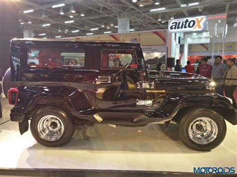 auto expo 2018 dc hammer is another thar costs inr 5 95 lakh motoroids