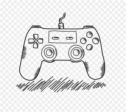 Drawing Controller Playstation Xbox Console Getdrawings