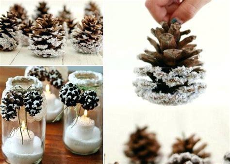basteln mit tannenzapfen weihnachten fra 1 4 hlingsdeko basteln 30 bastel und dekoideen