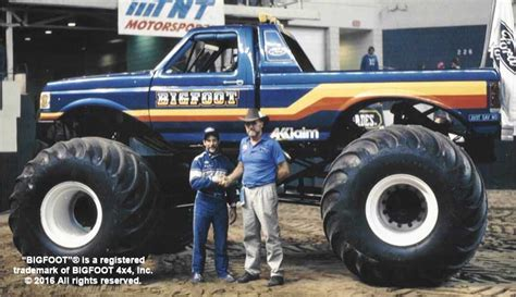 bigfoot monster truck history of bigfoot bigfoot 4 4 inc monster truck