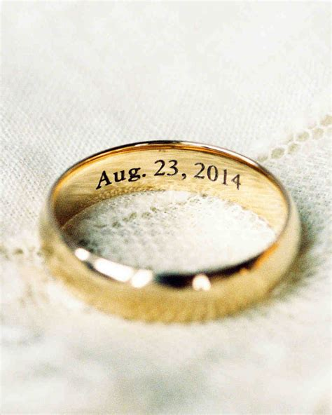 wedding ring engraving date 9 things to know about writing your wedding vows martha stewart weddings