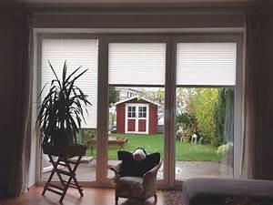 Gardinen Für Terrassentür Und Fenster : sichtschutz plissees f r t ren und fenster vom ~ A.2002-acura-tl-radio.info Haus und Dekorationen