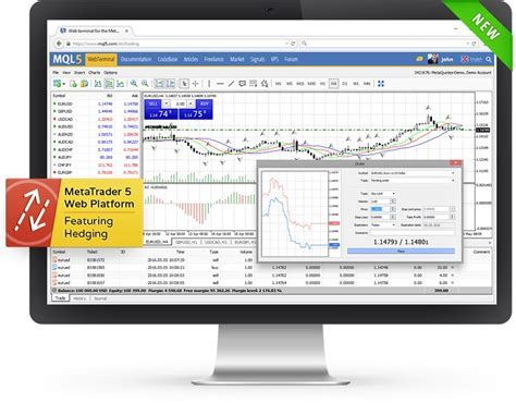 mt4 web terminal trade in metatrader 5 via your browser the beta version