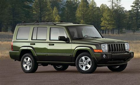 used jeep commander car and driver