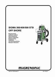 Migatronic Sigma 300