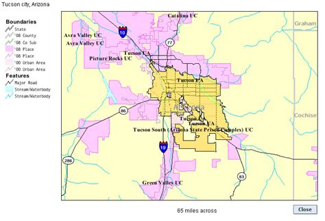 Tucson Az City Limits