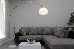 the many stylish forms of the modern arc floor lamp With large bowl floor lamp