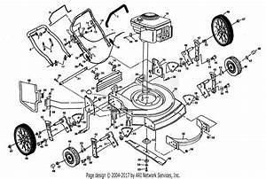Poulan Pp751hia Mower Parts Diagram For Mower Assembly